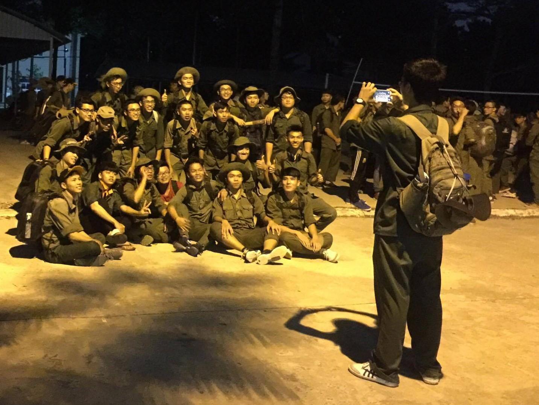 'Chuyến đi đêm' đầu tiên của 'lính'
