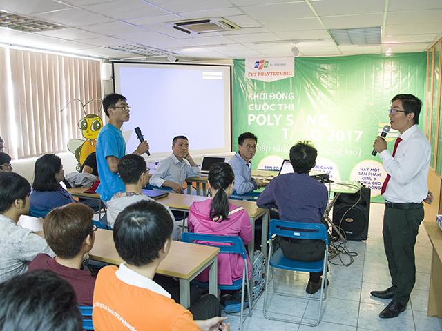 Sinh viên FPoly TP Hồ Chí Minh khởi động cuộc thi Poly sáng tạo 2017