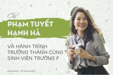 Chị Phạm Tuyết Hạnh Hà và hành trình trưởng thành cùng sinh viên trường F